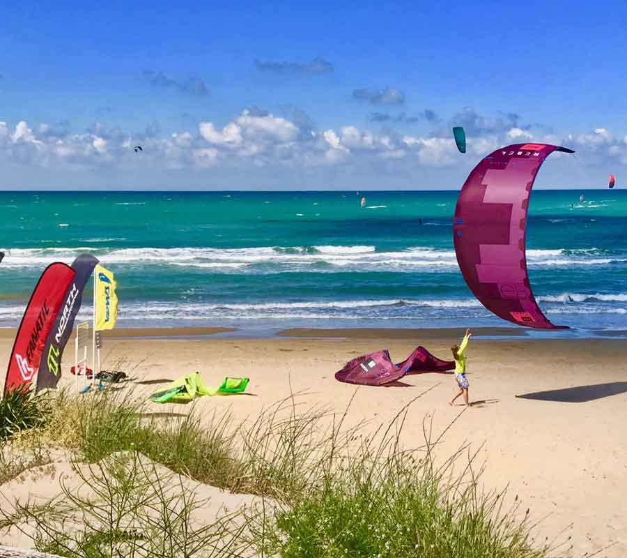 garganosurf-station-1-strand-kiter-landen
