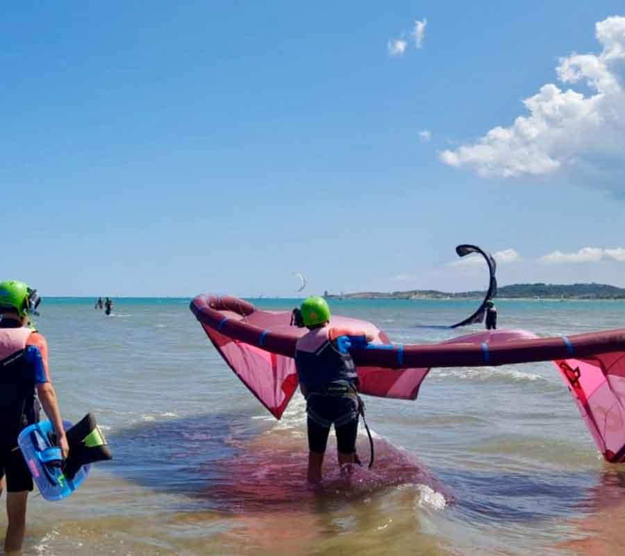 garganosurf-station-2-kite-tragen